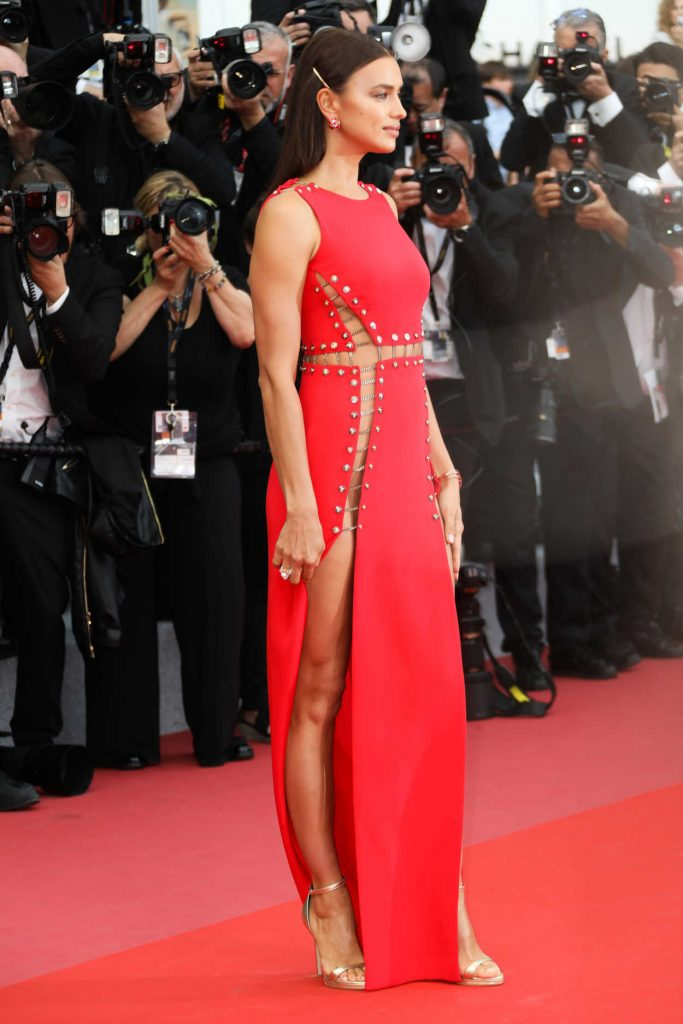 Irina Shayk at Sorry Angel Premiere During the 71st Cannes Film Festival in Cannes 05/10/2018-2