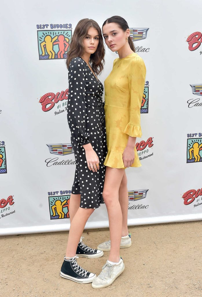 Kaia Gerber at 2018 Best Buddies Mother's Day Brunch in Malibu 05/12/2018-2