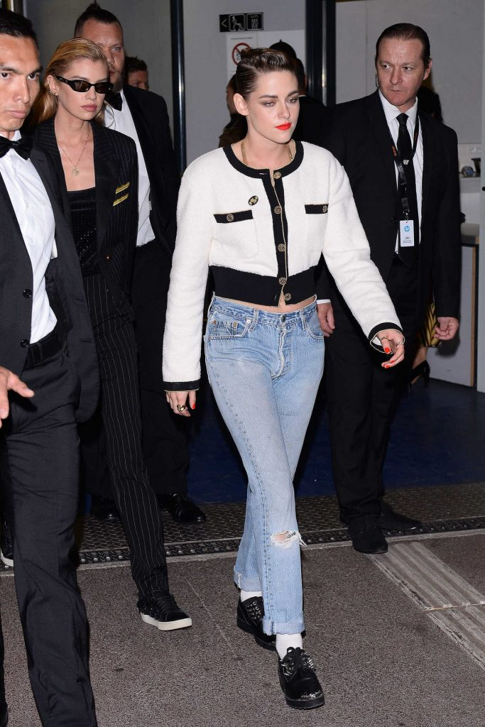 Kristen Stewart Leaves the Palace Festival in Cannes 05/12/2018-3
