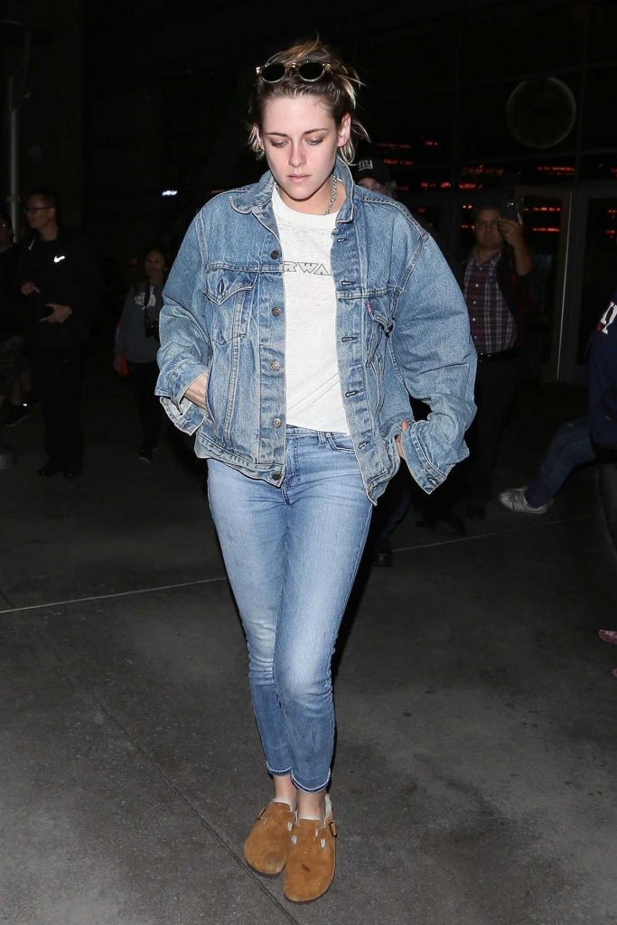 Kristen Stewart Wears All Denim Out in Hollywood 05/23/2018-1