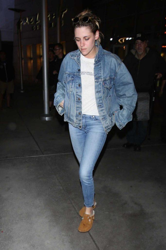 Kristen Stewart Wears All Denim Out in Hollywood 05/23/2018-2