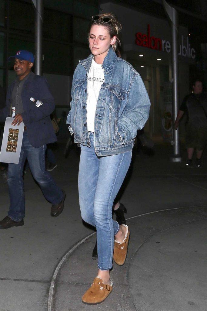 Kristen Stewart Wears All Denim Out in Hollywood 05/23/2018-5