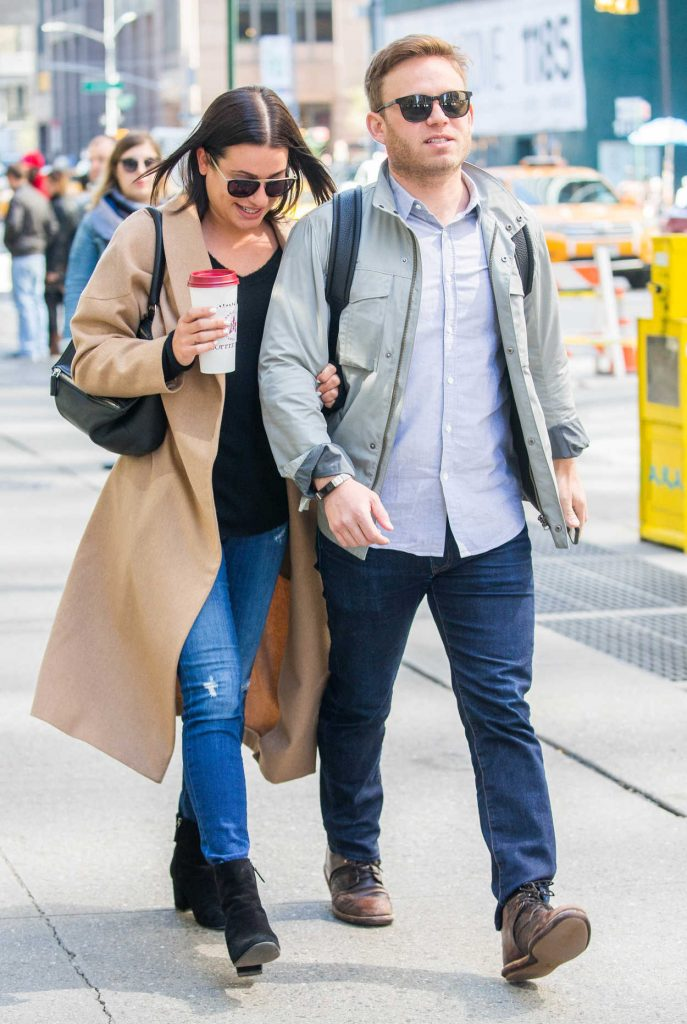 Lea Michele Was Seen Out with Her Fiancee in New York City 05/01/2018-1