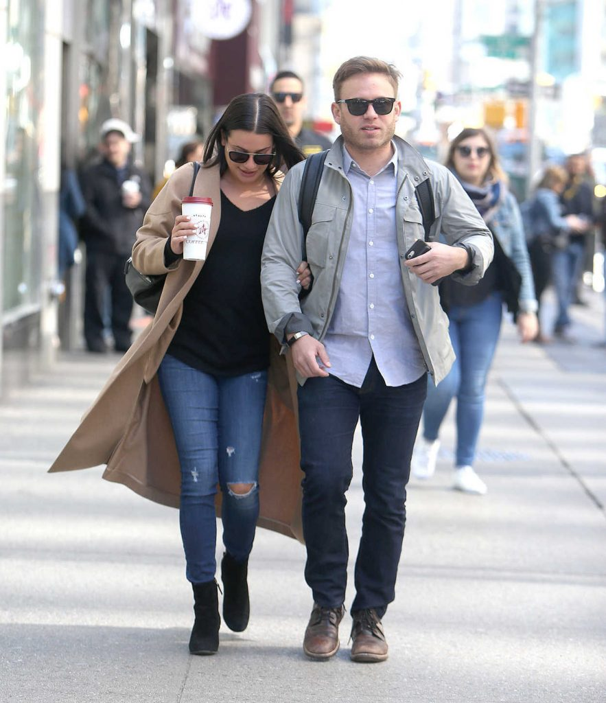 Lea Michele Was Seen Out with Her Fiancee in New York City 05/01/2018-3