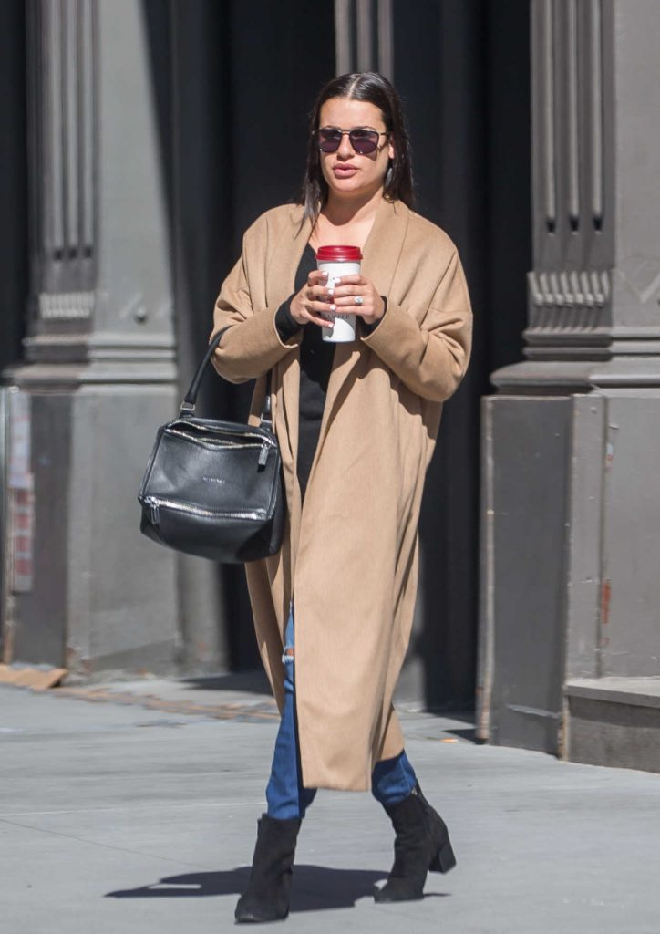 Lea Michele Was Seen Out with Her Fiancee in New York City 05/01/2018-4