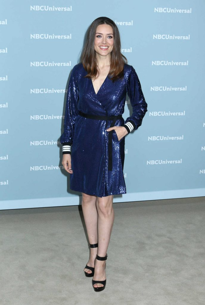 Megan Boone at NBCUniversal Upfront Presentation in New York City 05/14/2018-1