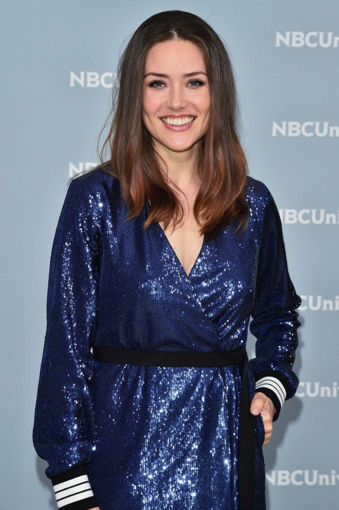 Megan Boone at NBCUniversal Upfront Presentation in New York City 05/14/2018-4