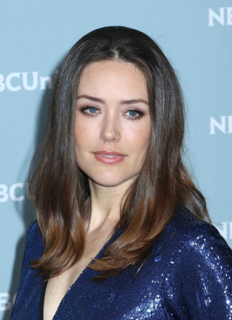 Megan Boone at NBCUniversal Upfront Presentation in New York City 05/14/2018-5