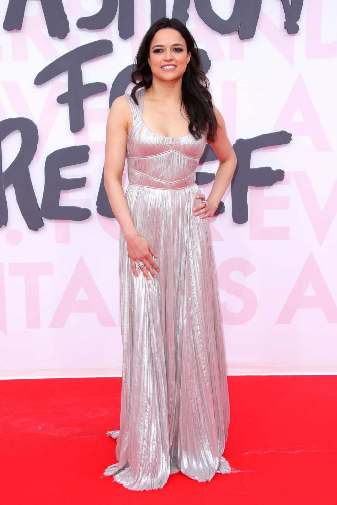 Michelle Rodriguez at the Fashion For Relief During the 71st Cannes Film Festival in Cannes 05/13/2018-1