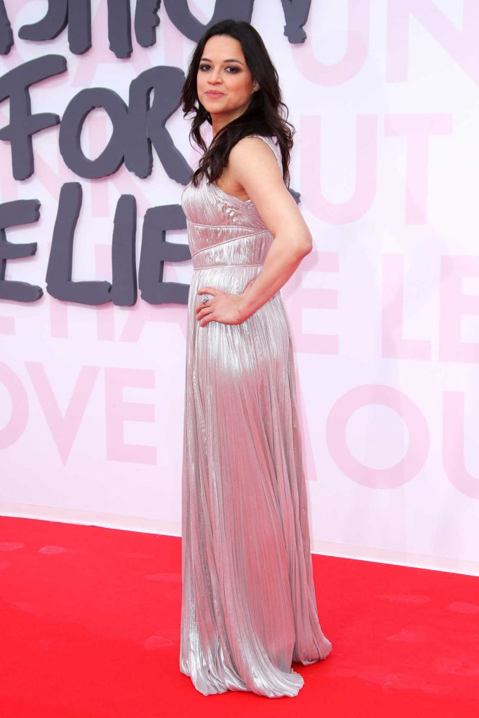 Michelle Rodriguez at the Fashion For Relief During the 71st Cannes Film Festival in Cannes 05/13/2018-3