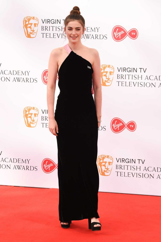 Millie Brady at British Academy Television Awards at Royal Festival Hall in London 05/13/2018-1