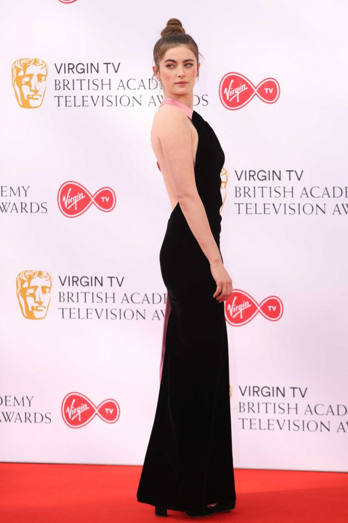 Millie Brady at British Academy Television Awards at Royal Festival Hall in London 05/13/2018-3