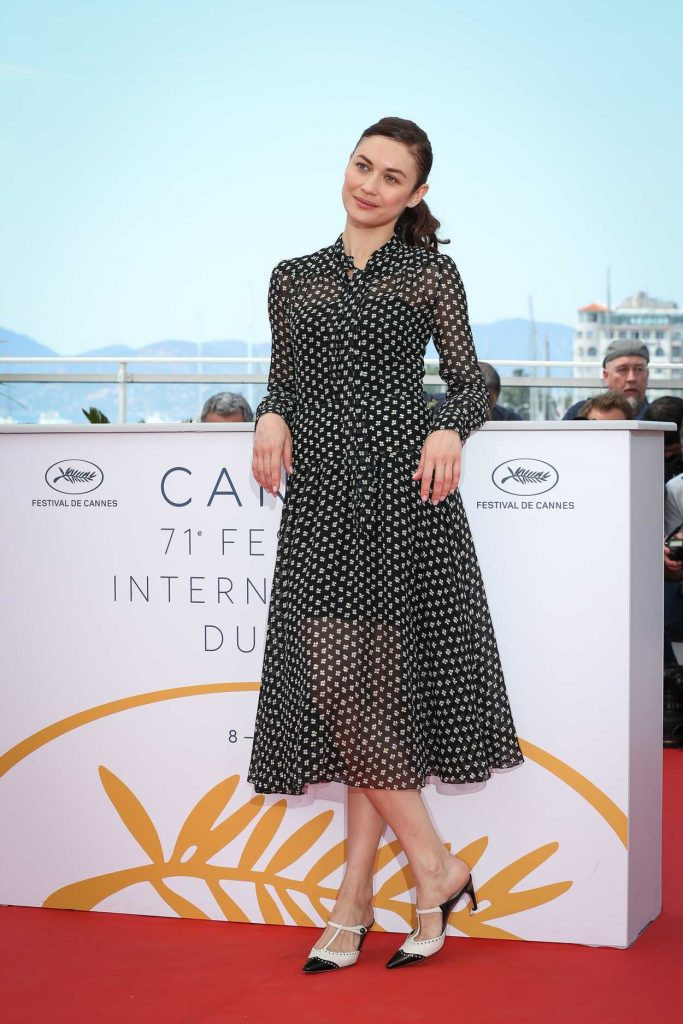 Olga Kurylenko at The Man who Killed Don Quixote Photocall During the 71st Cannes Film Festival in Cannes 05/19/2018-1
