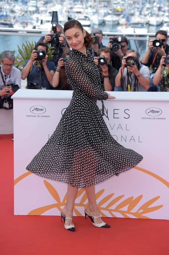 Olga Kurylenko at The Man who Killed Don Quixote Photocall During the 71st Cannes Film Festival in Cannes 05/19/2018-3