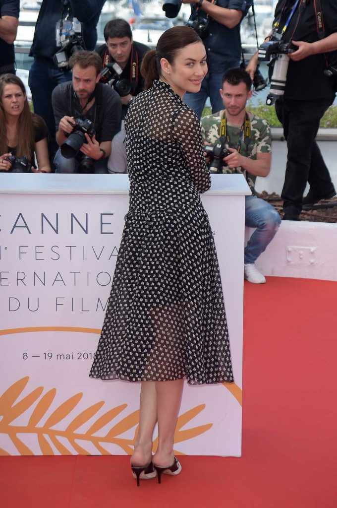 Olga Kurylenko at The Man who Killed Don Quixote Photocall During the 71st Cannes Film Festival in Cannes 05/19/2018-4