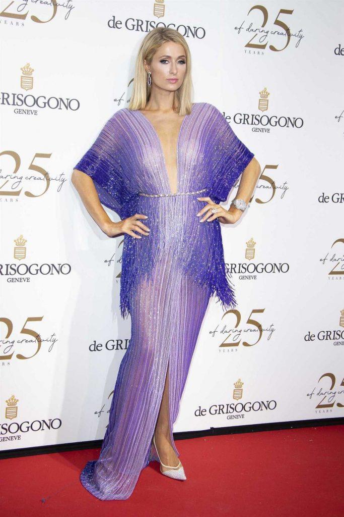 Paris Hilton at the de Grisogono Party During the 71st Cannes Film Festival in Cannes 05/15/2018-1