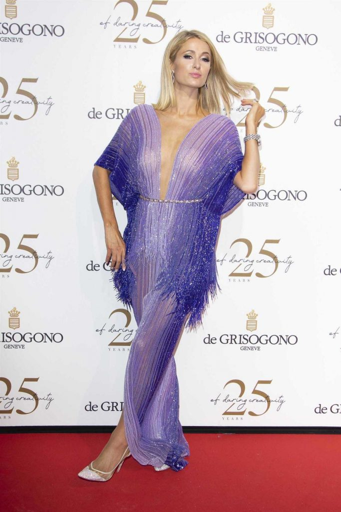 Paris Hilton at the de Grisogono Party During the 71st Cannes Film Festival in Cannes 05/15/2018-2