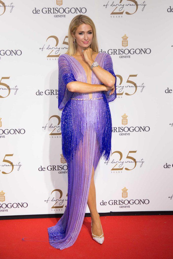 Paris Hilton at the de Grisogono Party During the 71st Cannes Film Festival in Cannes 05/15/2018-3