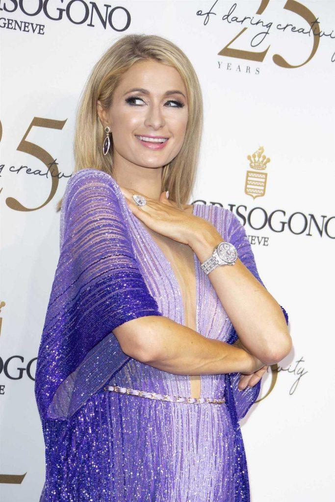 Paris Hilton at the de Grisogono Party During the 71st Cannes Film Festival in Cannes 05/15/2018-5