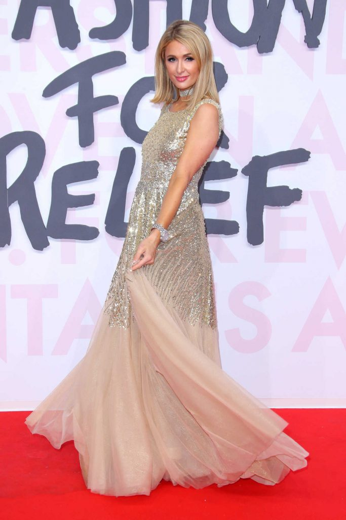 Paris Hilton at the Fashion For Relief During the 71st Cannes Film Festival in Cannes 05/13/2018-3