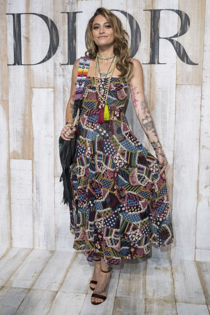 Paris Jackson at 2019 Dior Cruise Show After Party at the Chateau de Chantilly in Chantilly 05/25/2018-1