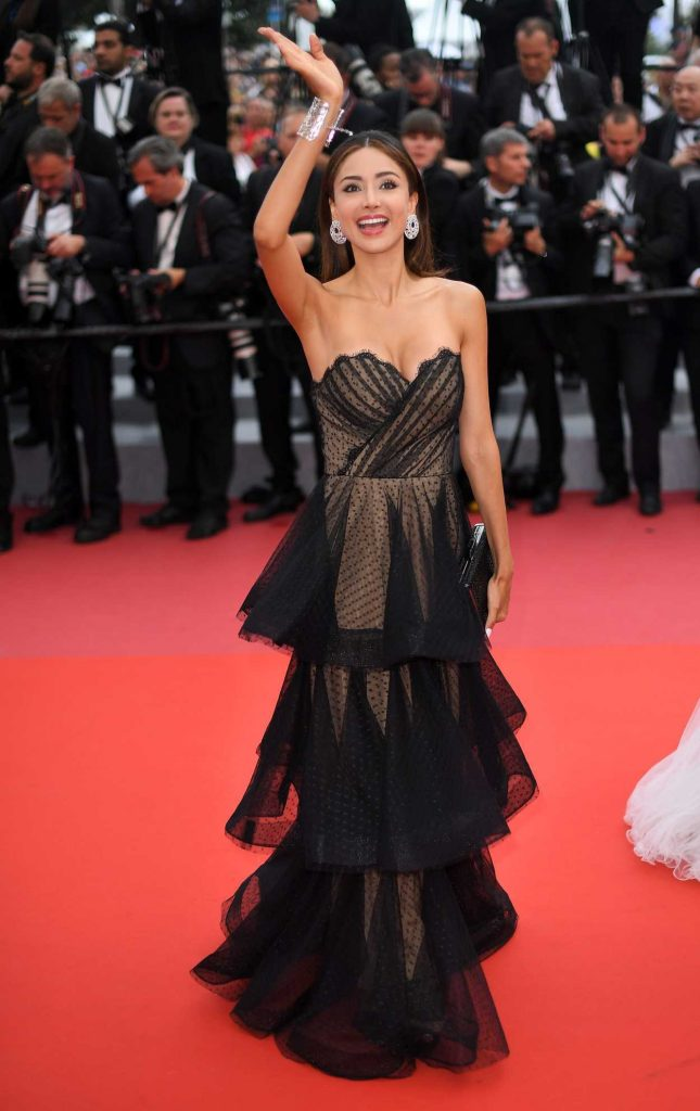 Patricia Contreras at Sorry Angel Premiere During the 71st Cannes Film Festival in Cannes 05/10/2018-2
