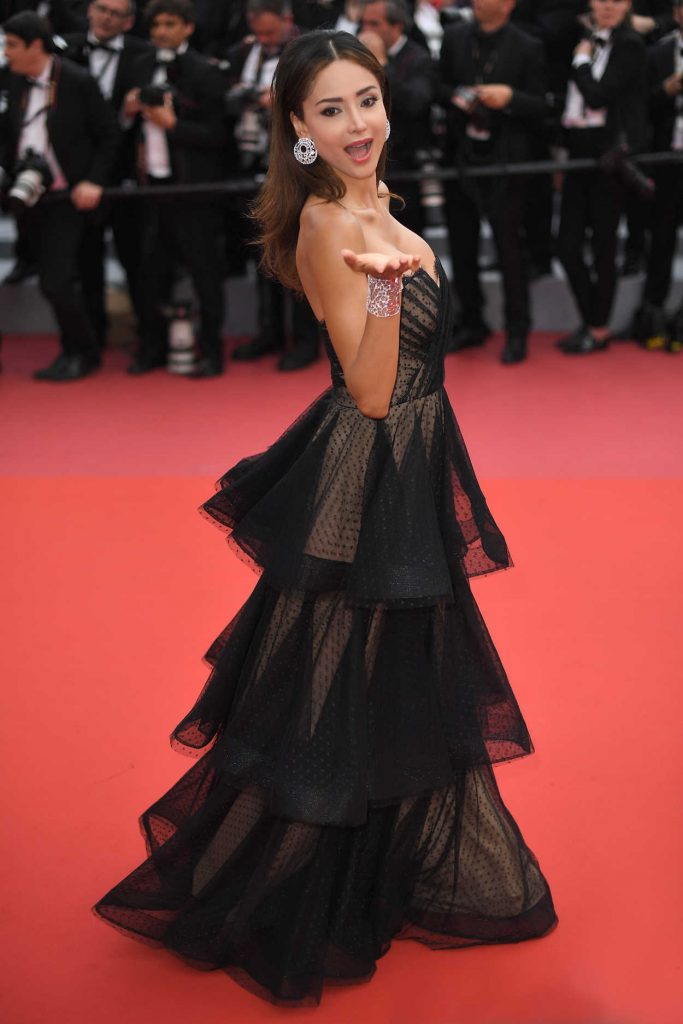 Patricia Contreras at Sorry Angel Premiere During the 71st Cannes Film Festival in Cannes 05/10/2018-4