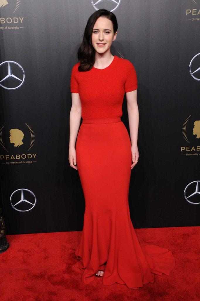 Rachel Brosnahan at the 77th Annual Peabody Awards in New York 05/19/2018-1