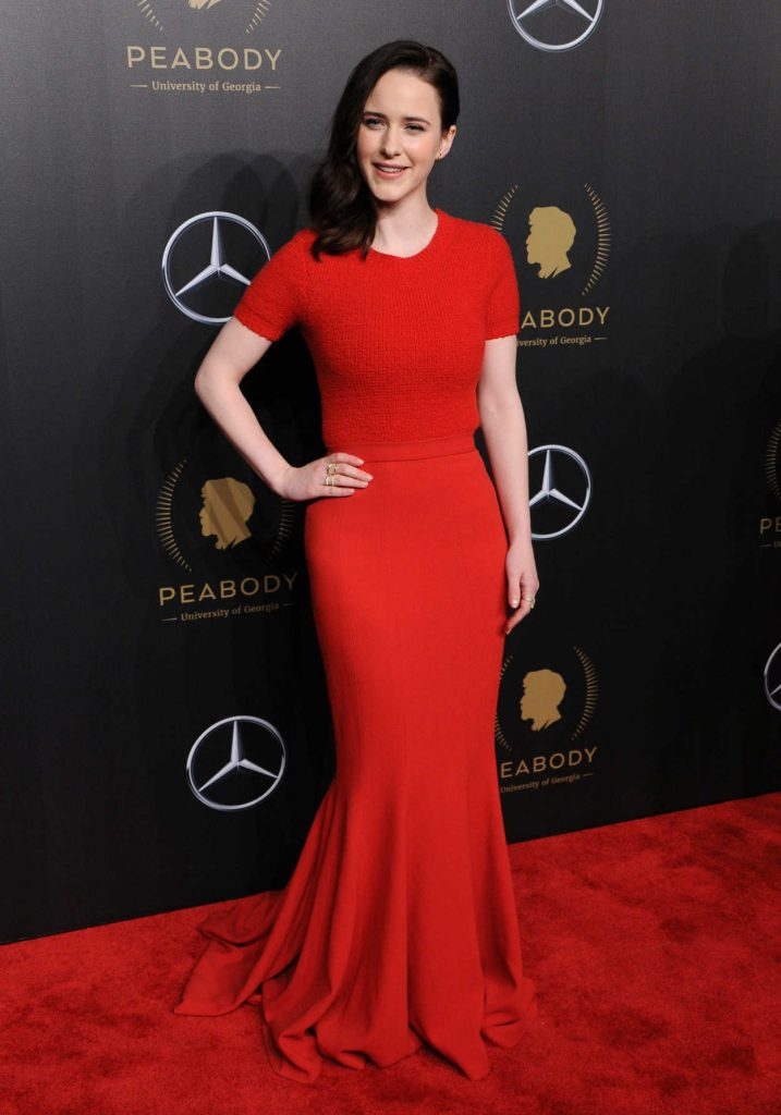 Rachel Brosnahan at the 77th Annual Peabody Awards in New York 05/19/2018-2