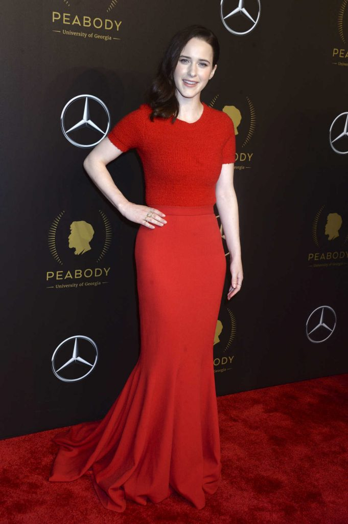 Rachel Brosnahan at the 77th Annual Peabody Awards in New York 05/19/2018-3