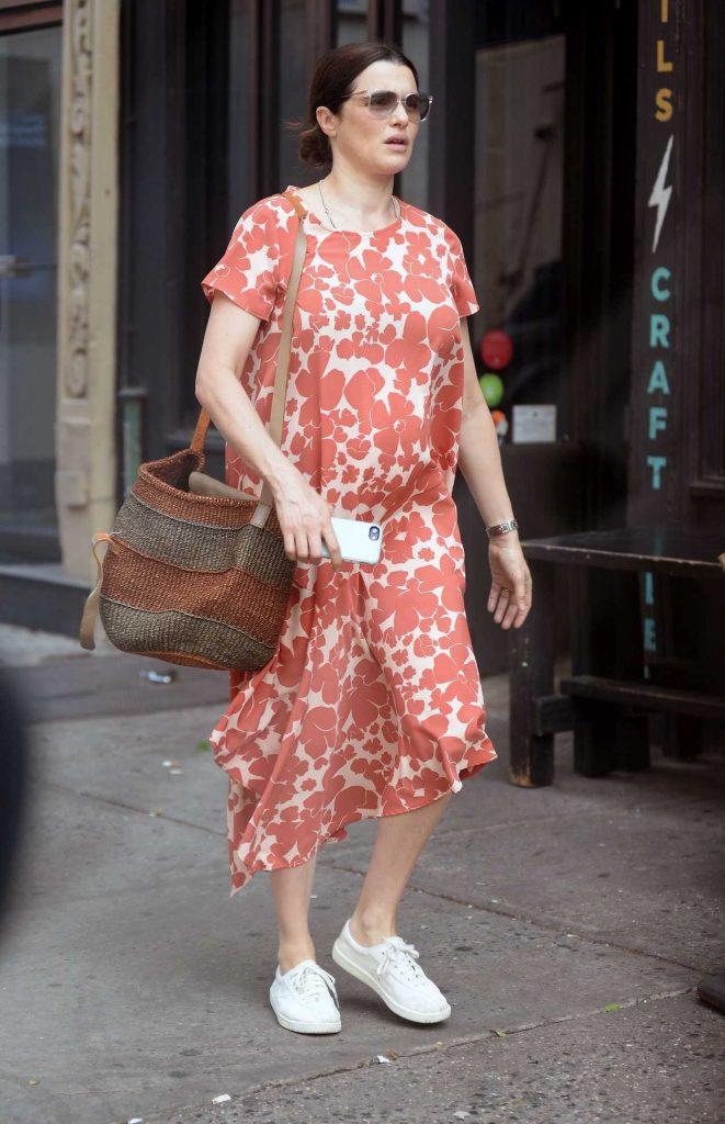 Rachel Weisz Was Seen Out in New York City 05/19/2018-1
