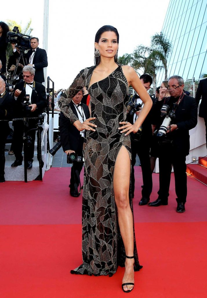 Raica Oliveira at the Girls of the Sun Premiere During the 71st Cannes Film Festival in Cannes 05/12/2018-2