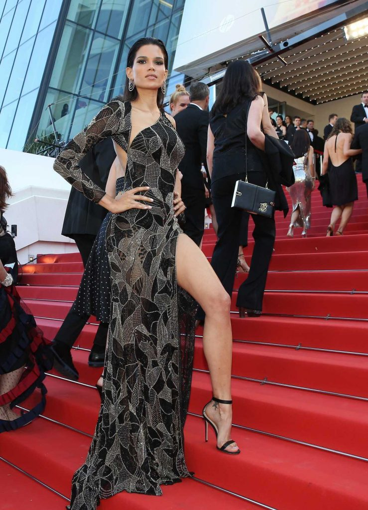 Raica Oliveira at the Girls of the Sun Premiere During the 71st Cannes Film Festival in Cannes 05/12/2018-3