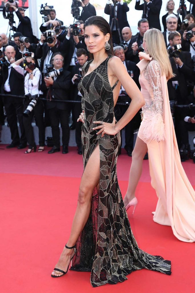 Raica Oliveira at the Girls of the Sun Premiere During the 71st Cannes Film Festival in Cannes 05/12/2018-4