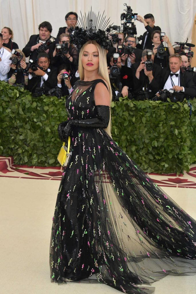 Rita Ora at 2018 Heavenly Bodies: Fashion and The Catholic Imagination Costume Institute Gala in New York City 05/07/2018-1