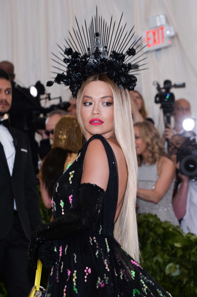 Rita Ora at 2018 Heavenly Bodies: Fashion and The Catholic Imagination Costume Institute Gala in New York City 05/07/2018-3