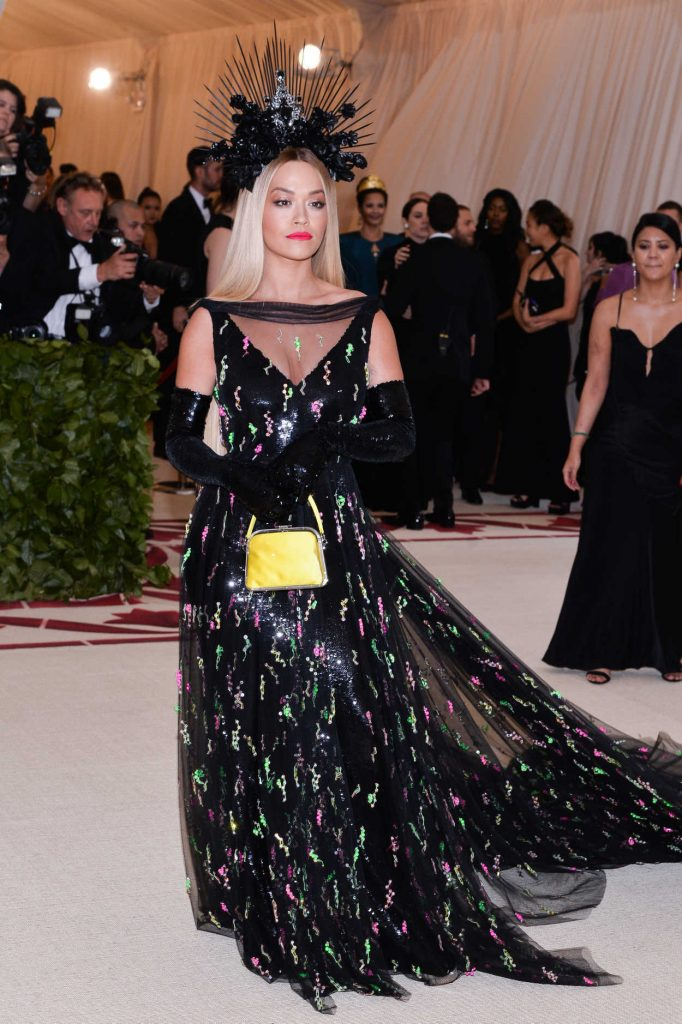 Rita Ora at 2018 Heavenly Bodies: Fashion and The Catholic Imagination Costume Institute Gala in New York City 05/07/2018-5