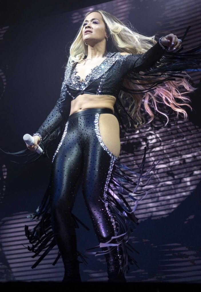 Rita Ora Performs Live on Stage at O2 Academy in Newcastle 05/13/2018-3
