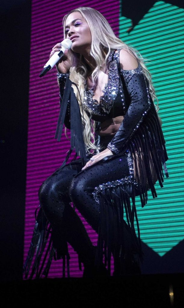 Rita Ora Performs Live on Stage at O2 Academy in Newcastle 05/13/2018-4