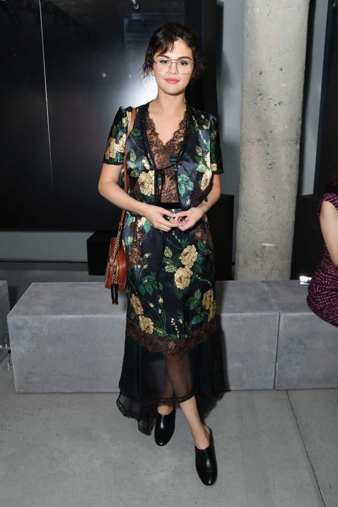 Selena Gomez at the Prada Resort 2019 Fashion Show in New York City 05/04/2018-1
