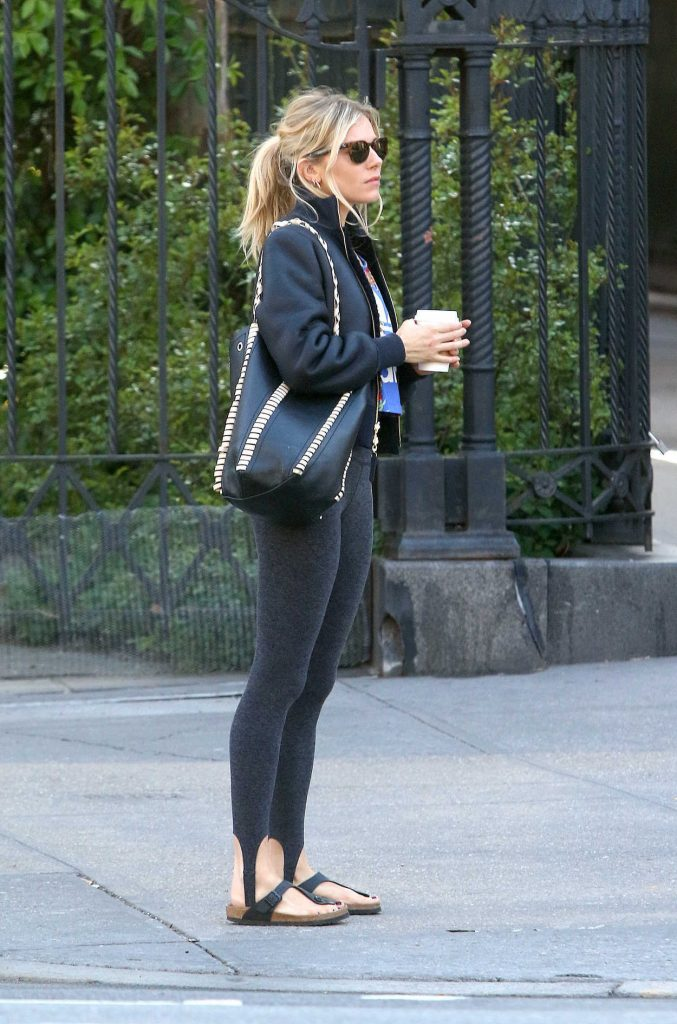 Sienna Miller Heads to the Gym in New York City 05/01/2018-3