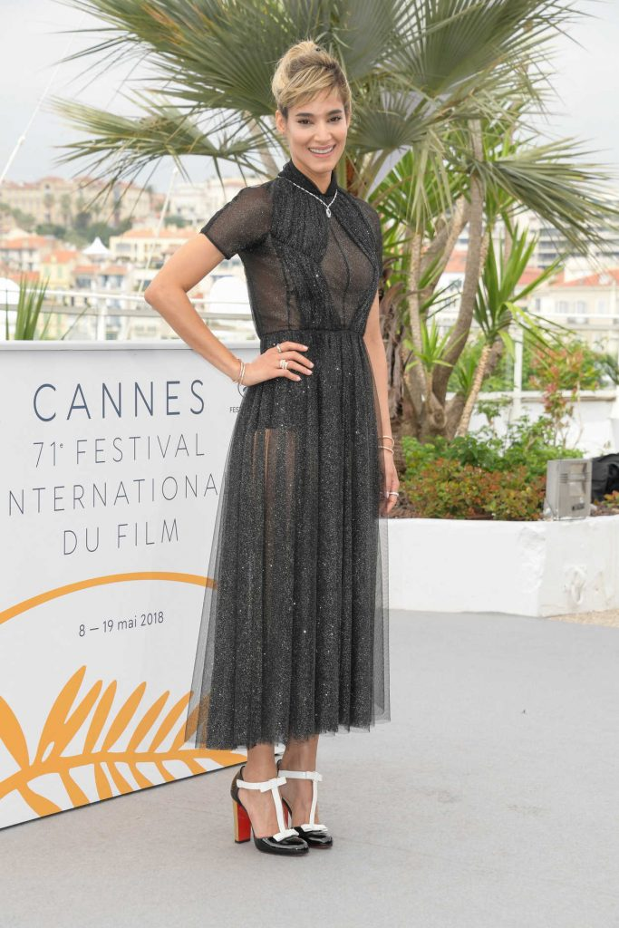Sofia Boutella at the Farenheit 451 Photocall During the 71st Cannes Film Festival in Cannes 05/12/2018-2