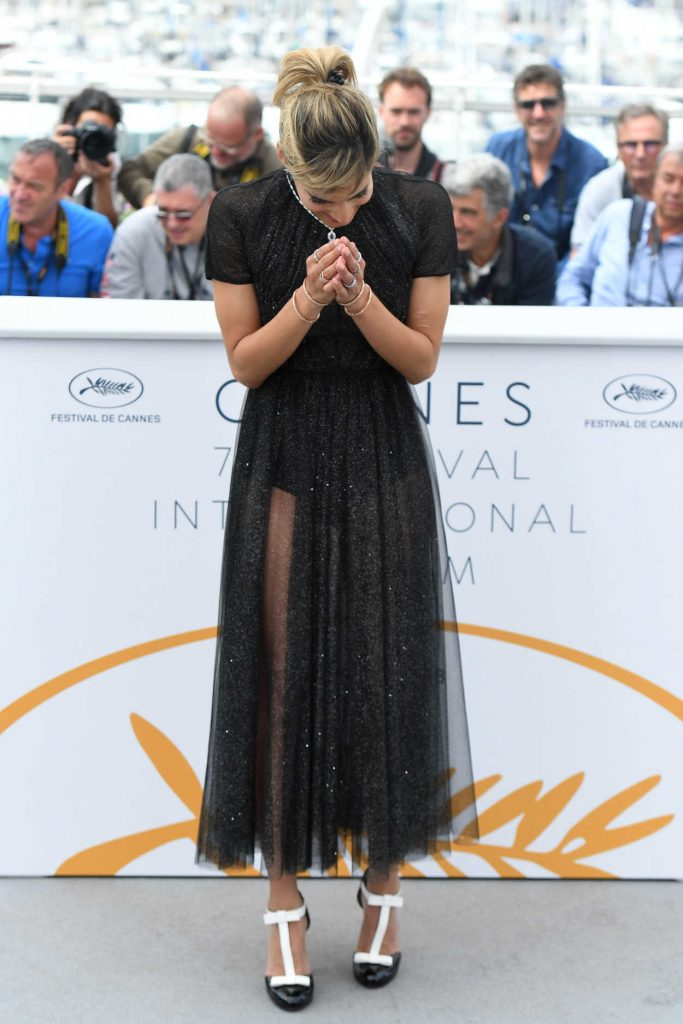 Sofia Boutella at the Farenheit 451 Photocall During the 71st Cannes Film Festival in Cannes 05/12/2018-4