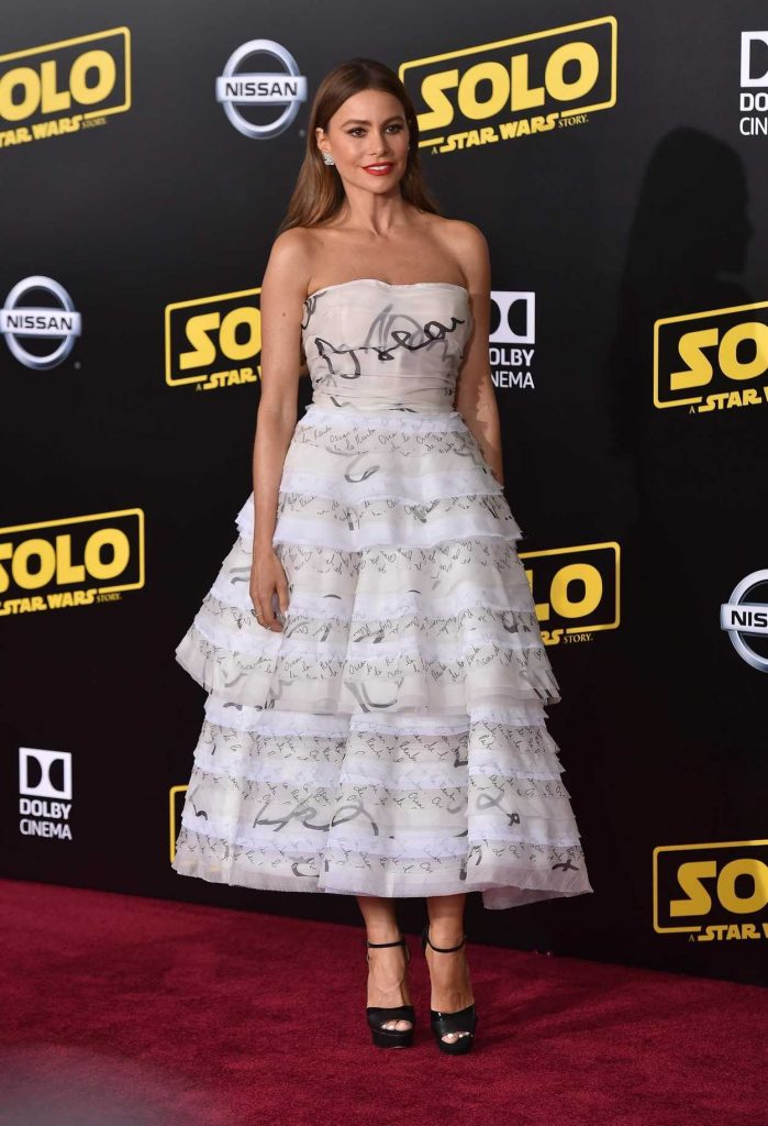 Sofia Vergara at the Solo: A Star Wars Story Premiere in Los Angeles 05/10/2018-1