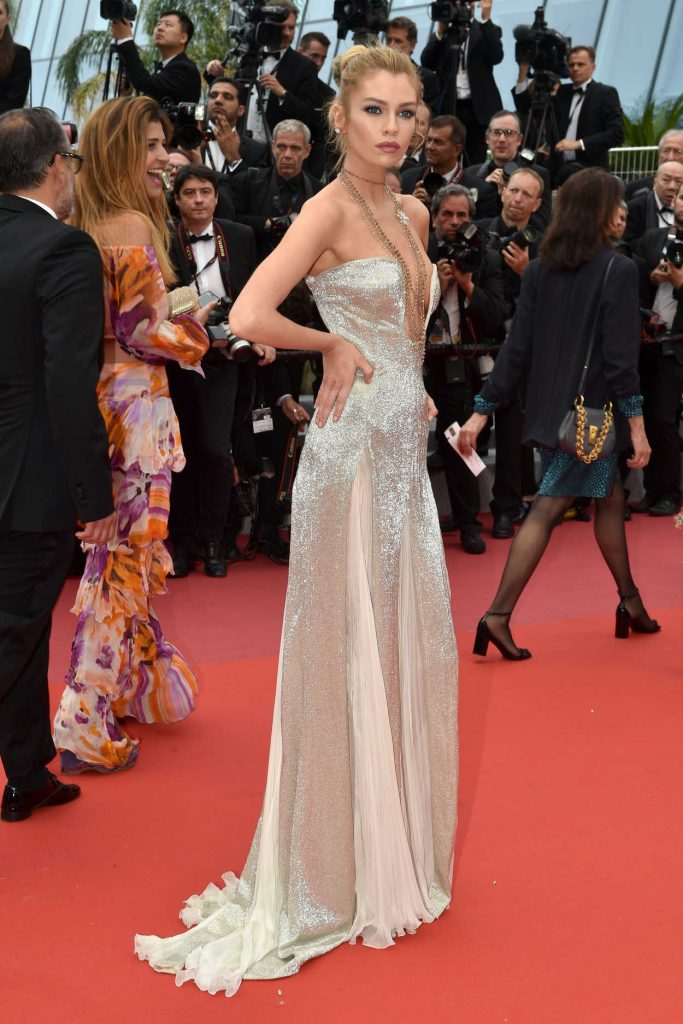 Stella Maxwell at Sorry Angel Premiere During the 71st Cannes Film Festival in Cannes 05/10/2018-2