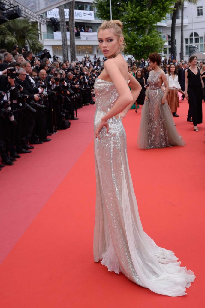 Stella Maxwell at Sorry Angel Premiere During the 71st Cannes Film Festival in Cannes 05/10/2018-3