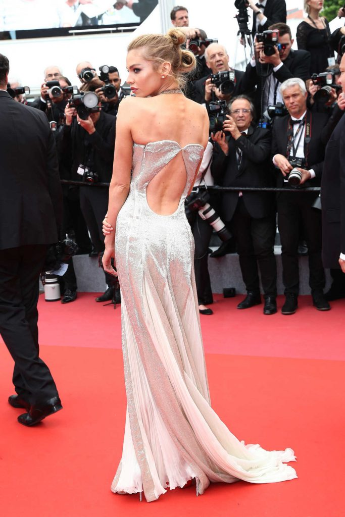 Stella Maxwell at Sorry Angel Premiere During the 71st Cannes Film Festival in Cannes 05/10/2018-4