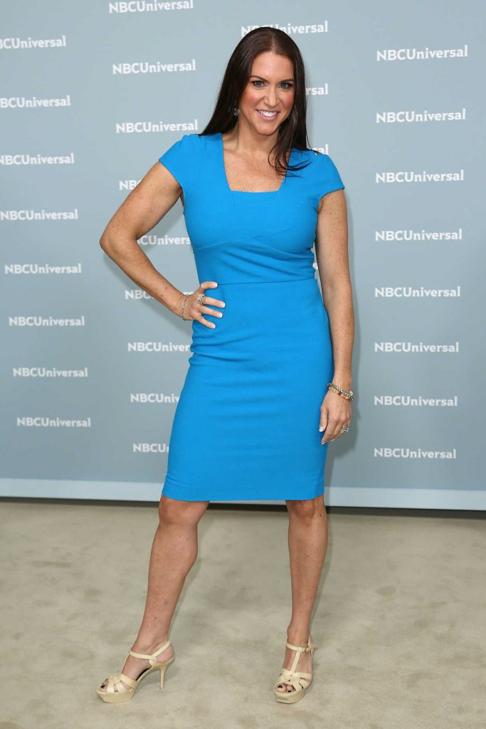 Stephanie McMahon at NBCUniversal Upfront Presentation in New York City 05/14/2018-1