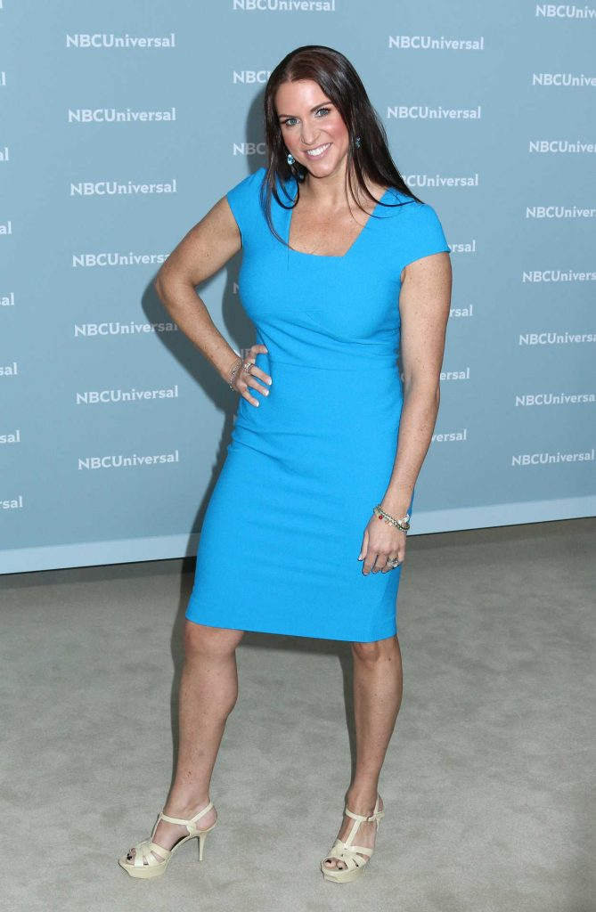Stephanie McMahon at NBCUniversal Upfront Presentation in New York City 05/14/2018-2