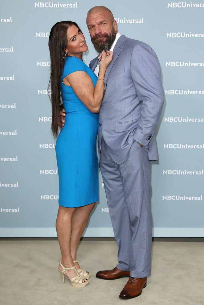 Stephanie McMahon at NBCUniversal Upfront Presentation in New York City 05/14/2018-3
